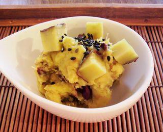 さつま芋のマッシュポテト5