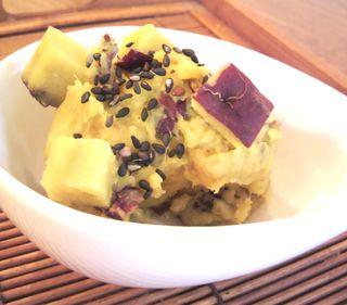 さつま芋のマッシュポテト4